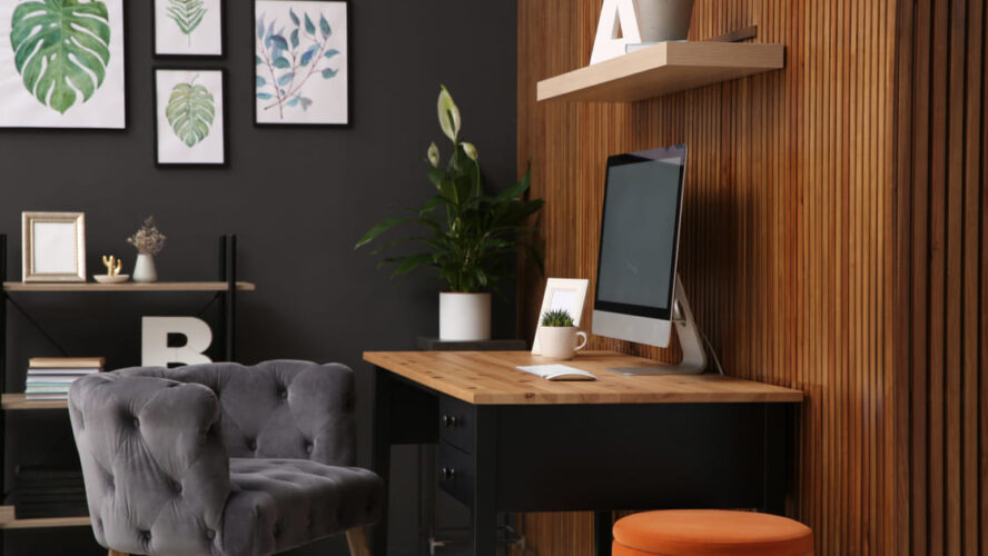 As melhores madeiras para seu escritório em casa