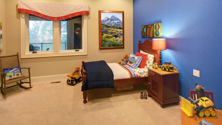 3 modelos de quarto infantil com madeira