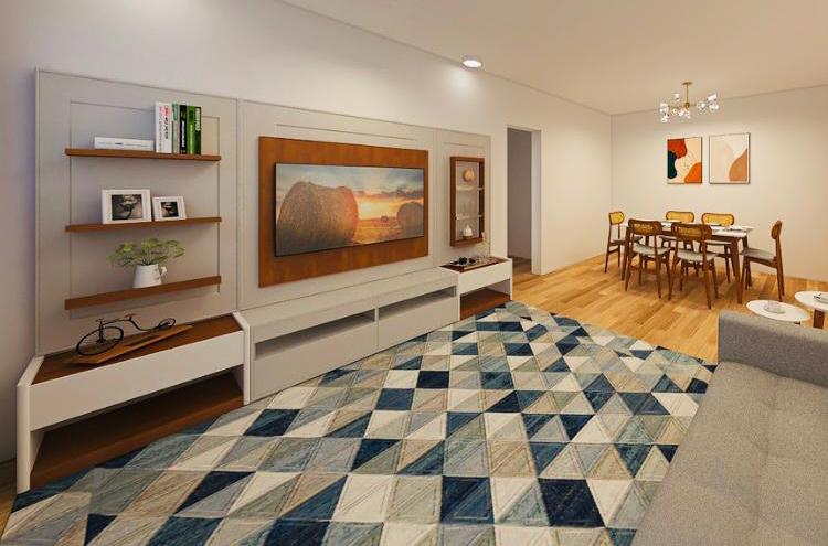 Design de interiores com móveis de madeira: uma parceria de estilo